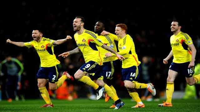El Sunderland entero celebra el pase a la final