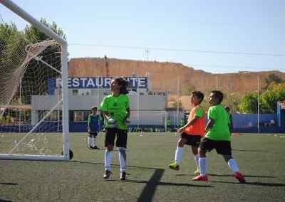 Aprender ingles jugando al fútbol en verano