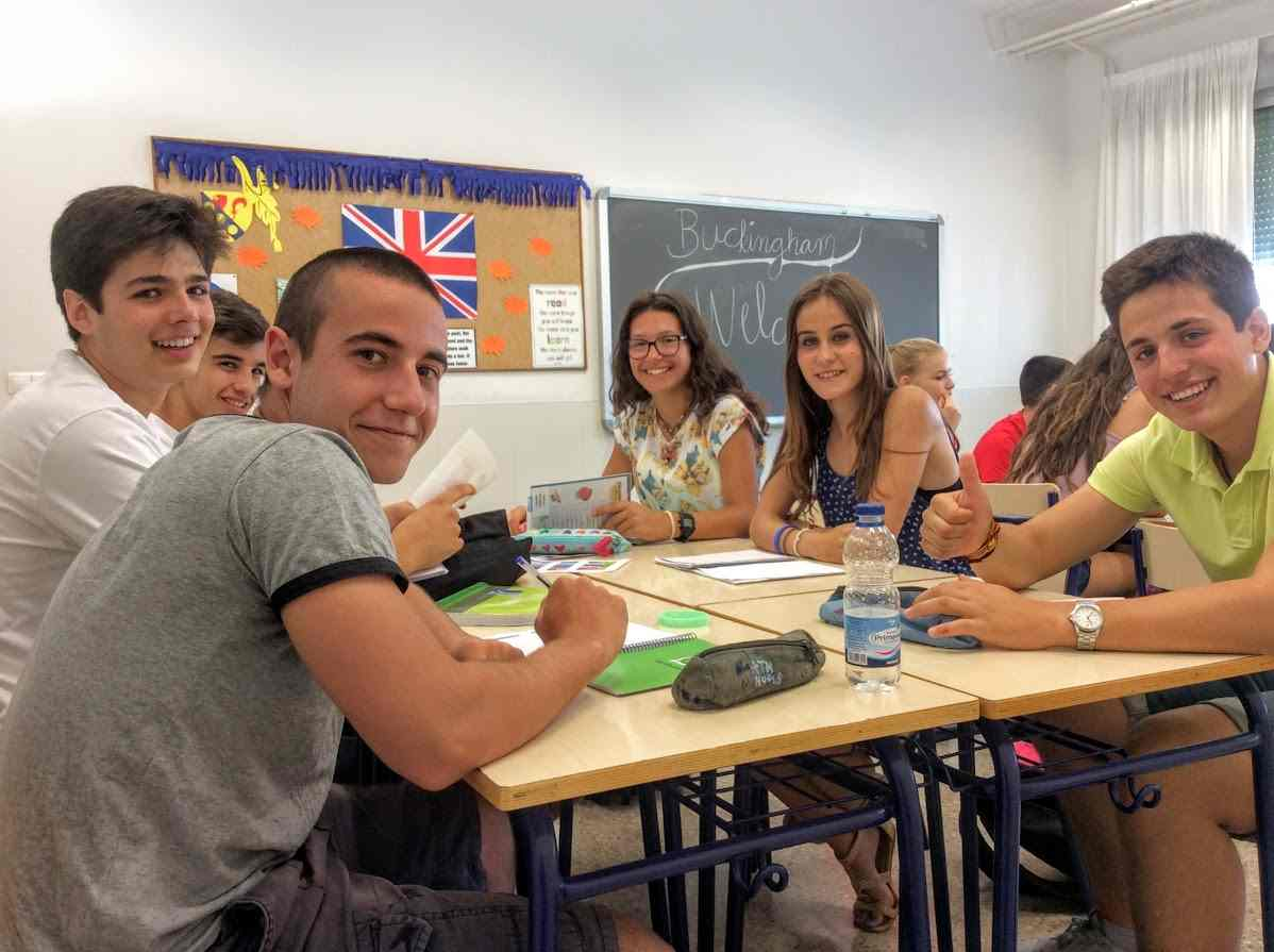 extraescolares en inglés - Alumnos