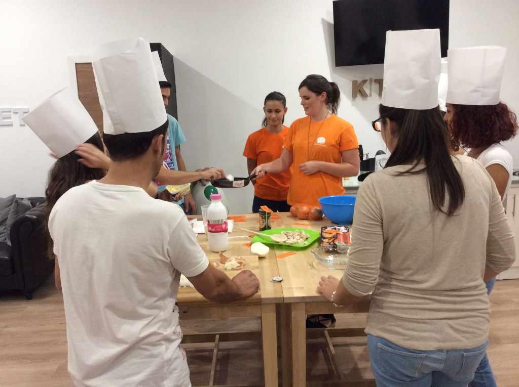 Cooking: cocina en inglés