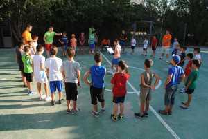 Juegos en inglés en el campamento