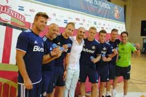 Entrenadores profesionales de la cantera del Campus de fútbol en inglés del Sunderland