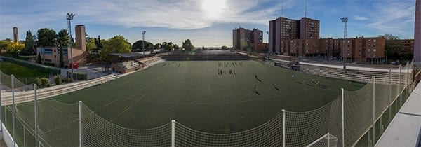 Campus de fútbol en Madrid