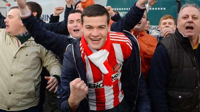 aficion sunderland - final copa liga inglesa