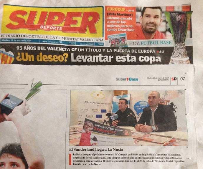el sunderland en el superdeporte