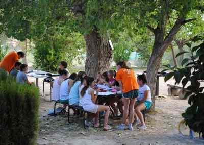 Campamento Charlie's Farm en inglés