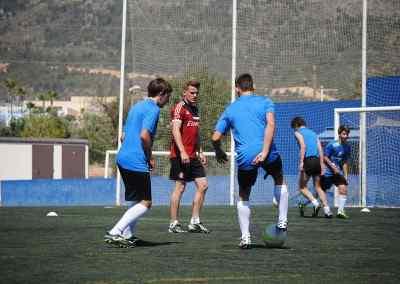 Campus de fútbol inglaterra 2012