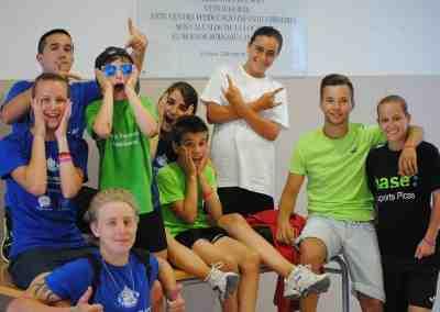 Finalistas para la Beca del Campus de fútbol en inglés