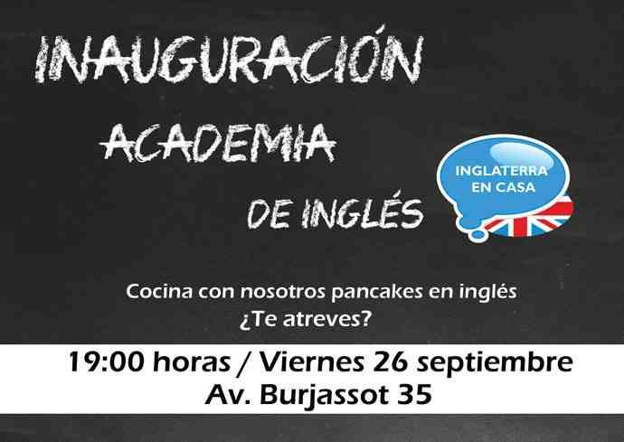 nueva academia de inglés en Valencia