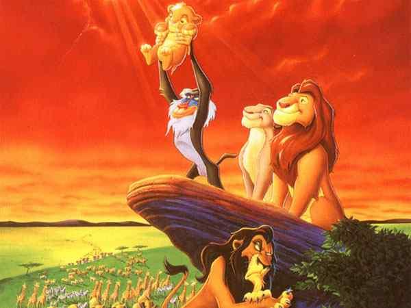 el rey león disney ingles