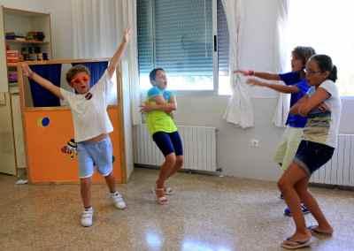 Actividades en ingles en la Summer School