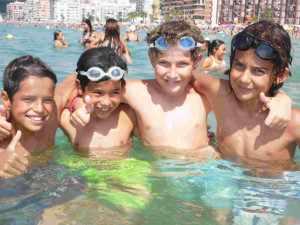 Actividades Playa y Piscina Campamento Verano