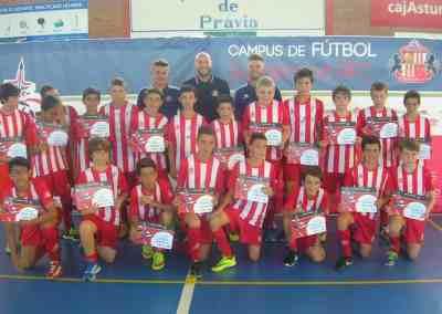 Campus de Futbol Pravia Asturias