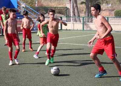 Entrenamientos y piscna Campus de Futbol