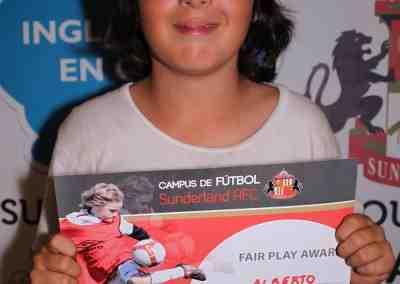 Premios Campus Futbol Sunderland
