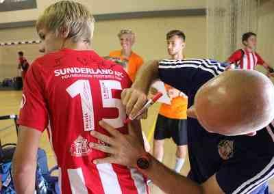 Beca Campus fútbol Sunderland 2015