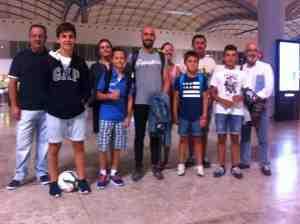 Los becados del Campus de Fútbol Viaje a Sunderland