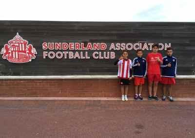 Pruebas de fútbol para el Sunderland AFC