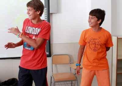 Campamento inglés 2015