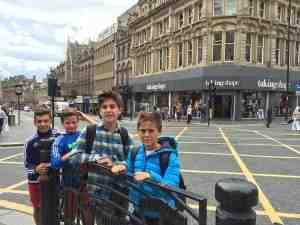 Visita a Newcastle