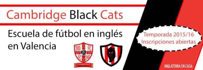 Escuela de fútbol en inglés en Valencia