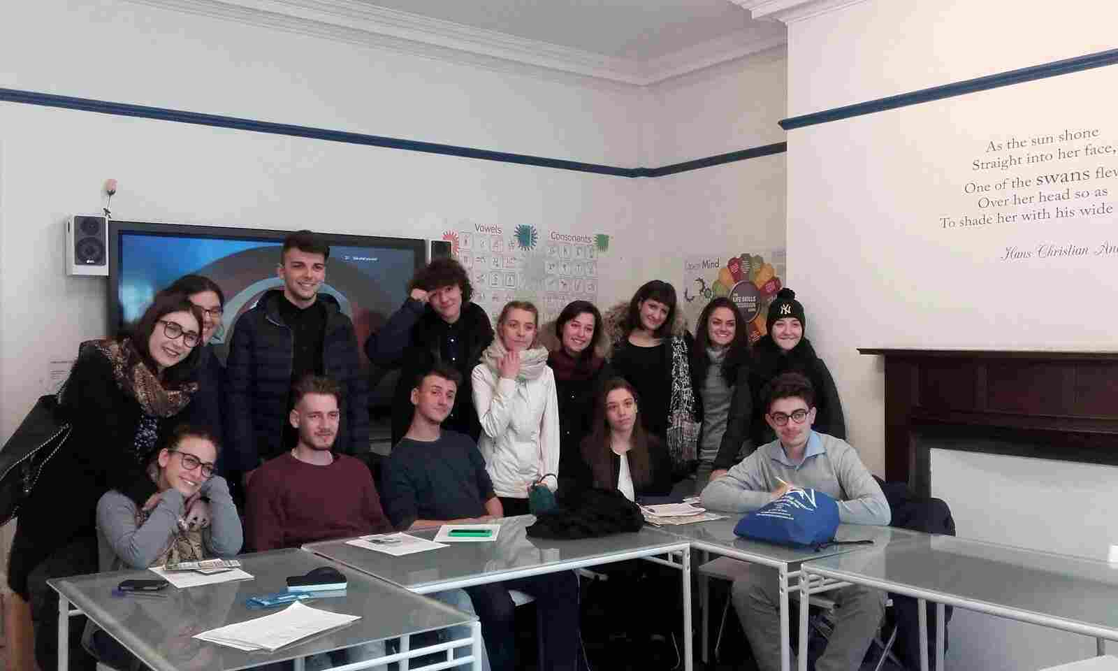 Curso de Inglés en Irlanda - alumnos
