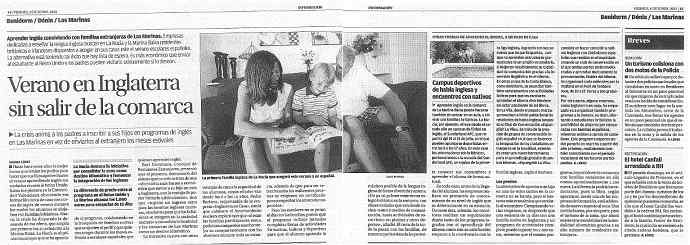 Host families in Alicante