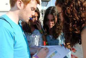 Campamento con familias británicas y clases de inglés