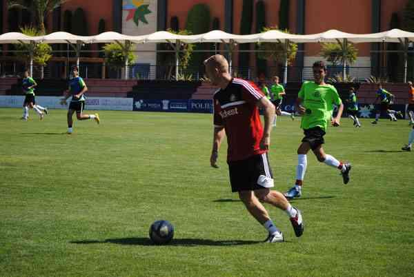 Campamentos de fútbol en inglés