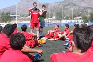 escuela de fútbol en inglés zona Valencia