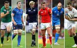 Jugadores del Six Nations 2016