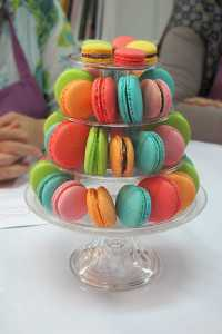 Tea Time, macarons