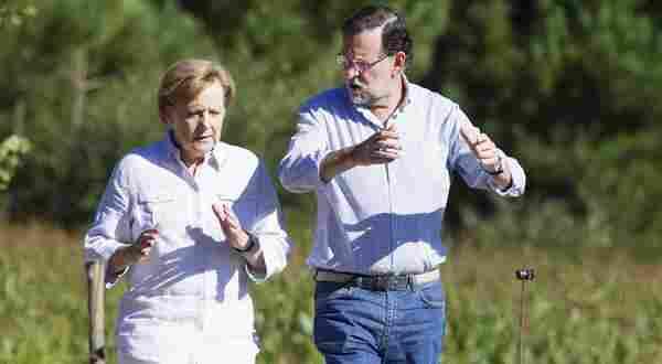los politicos españoles hablando inglés