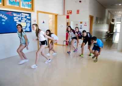 Un lunes muy activo en Summer School Benissa
