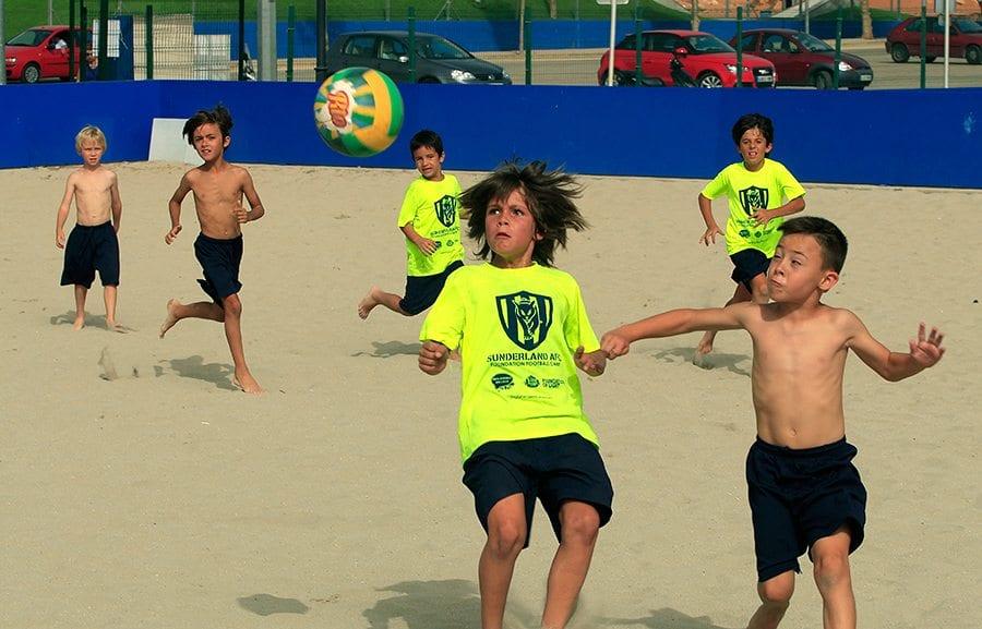Campus en inglés Futbol-Playa