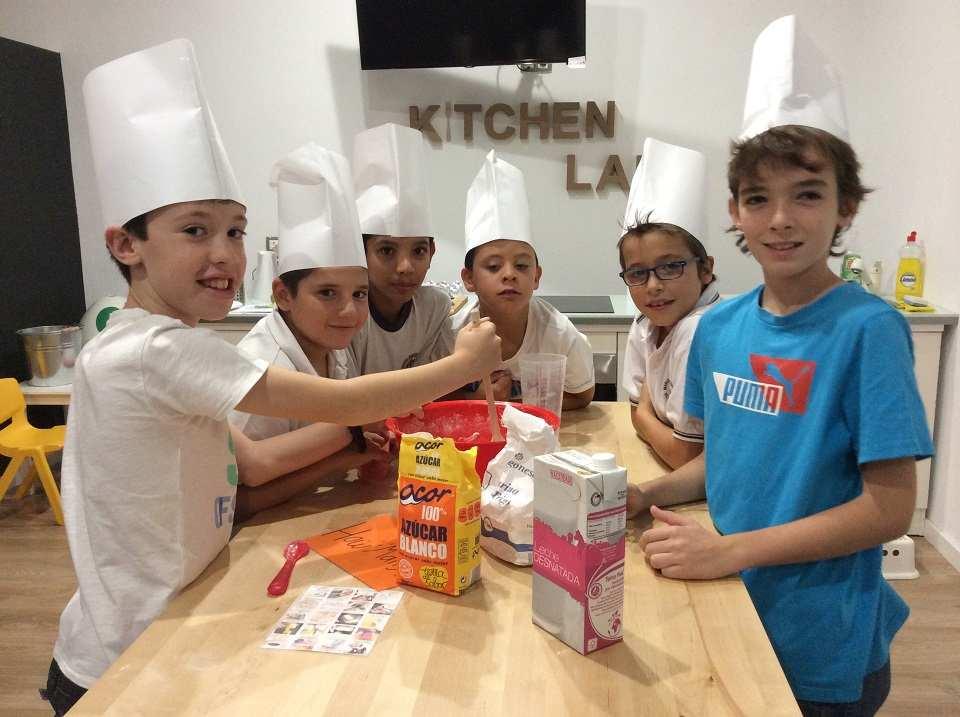 Excursiones escolares - Taller de cocina