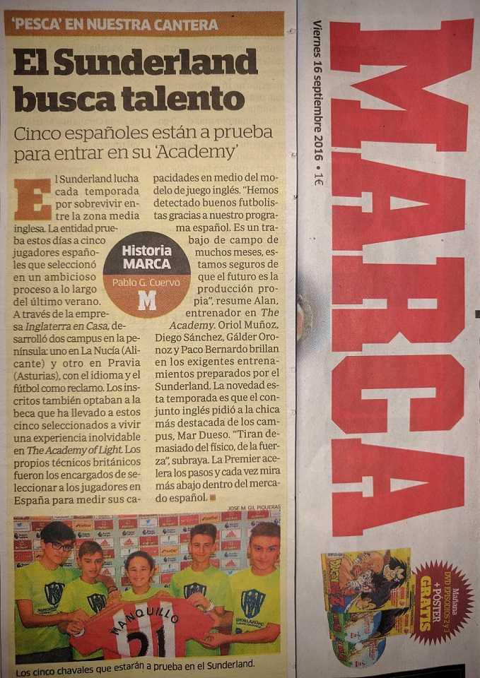 Diario Marca, chicos a prueba en la Premier