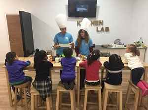 Kitchen lab niños