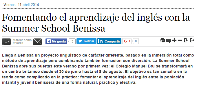 Summer school y benissa digital