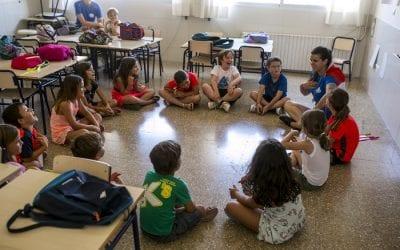Aprender inglés para niños, deja guiarte solo por profesionales del sector