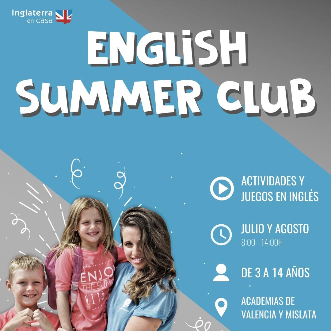 English Summer Club - Escuela de verano en inglés