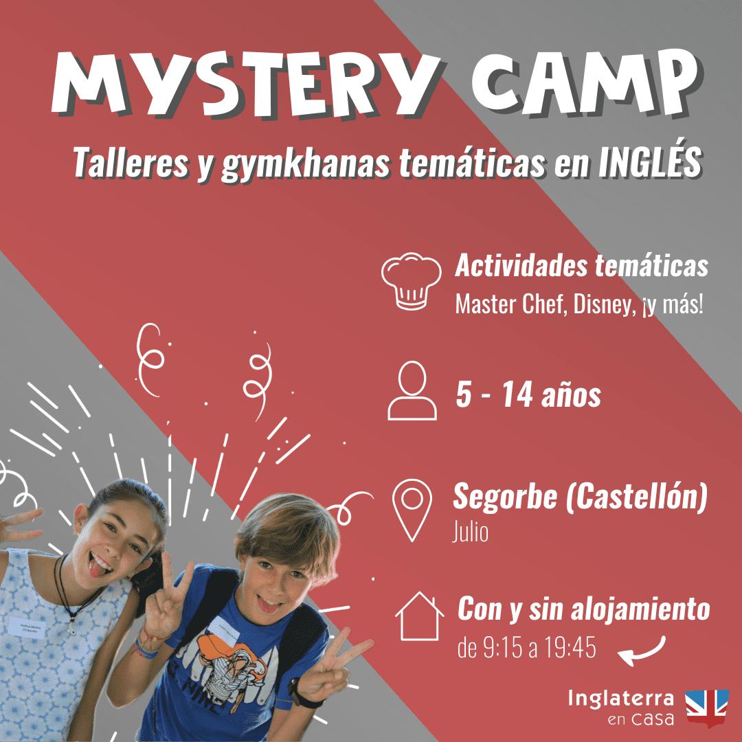 Mystery Camp campamento segorbe