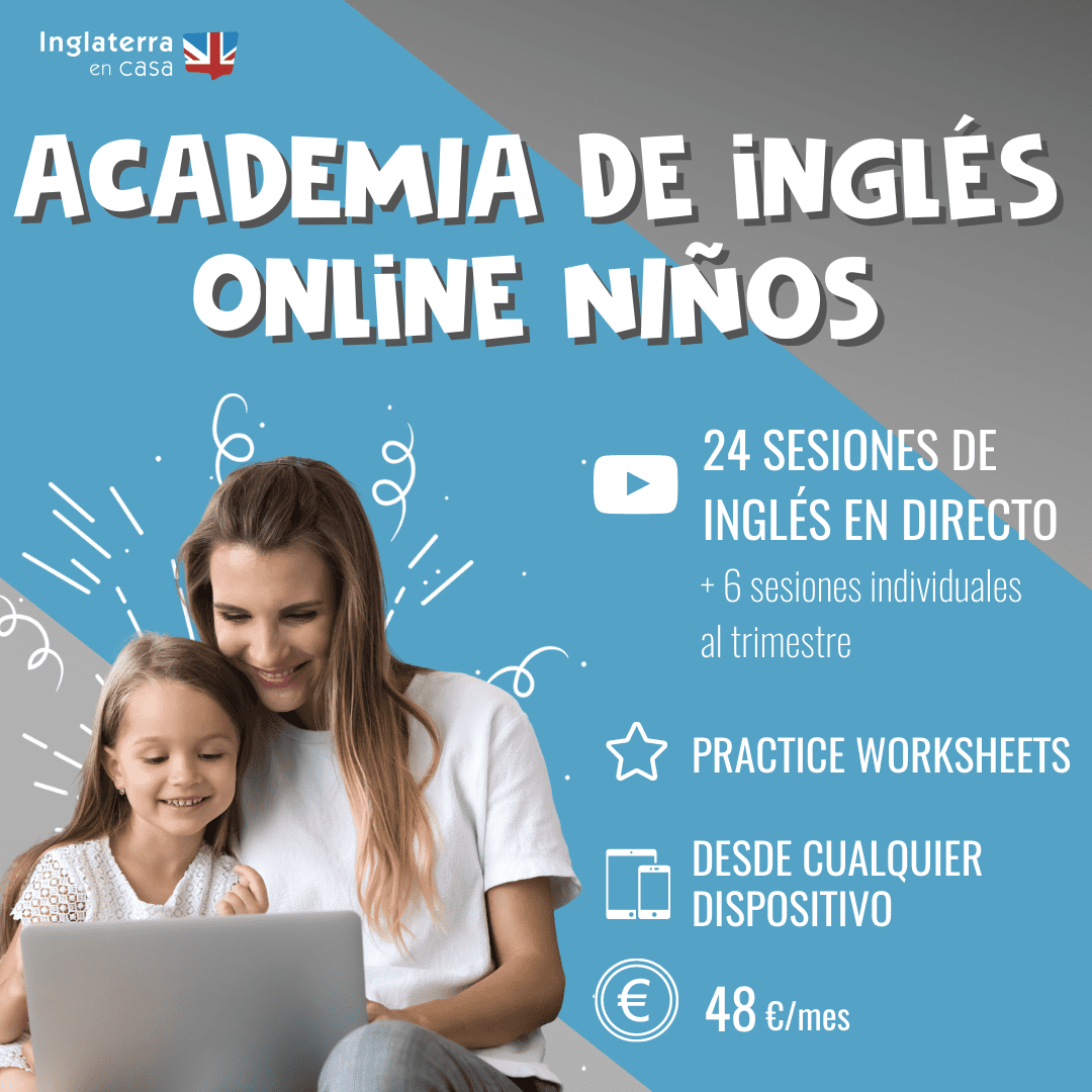 academia de inglés online niños