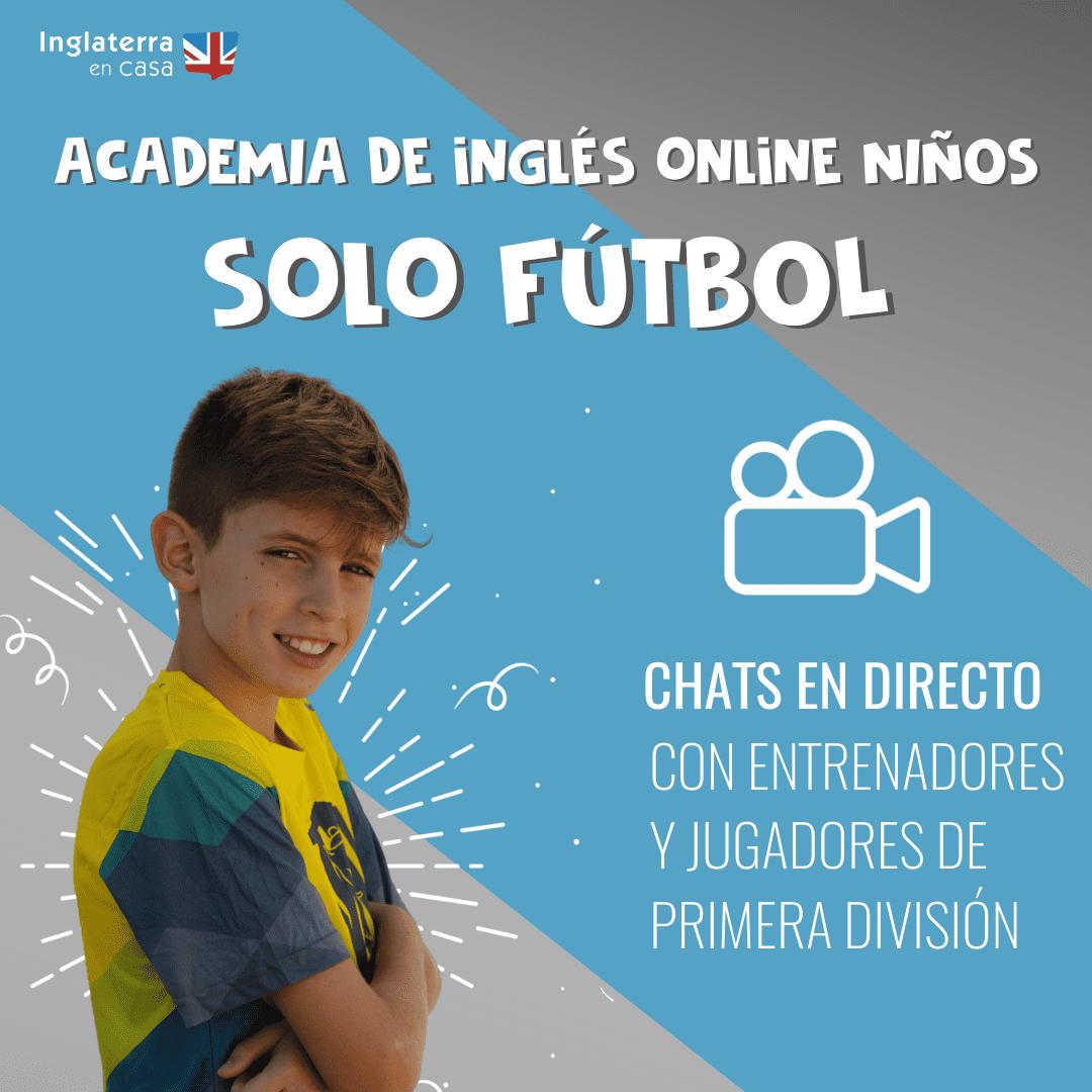 academia de inglés online de fútbol