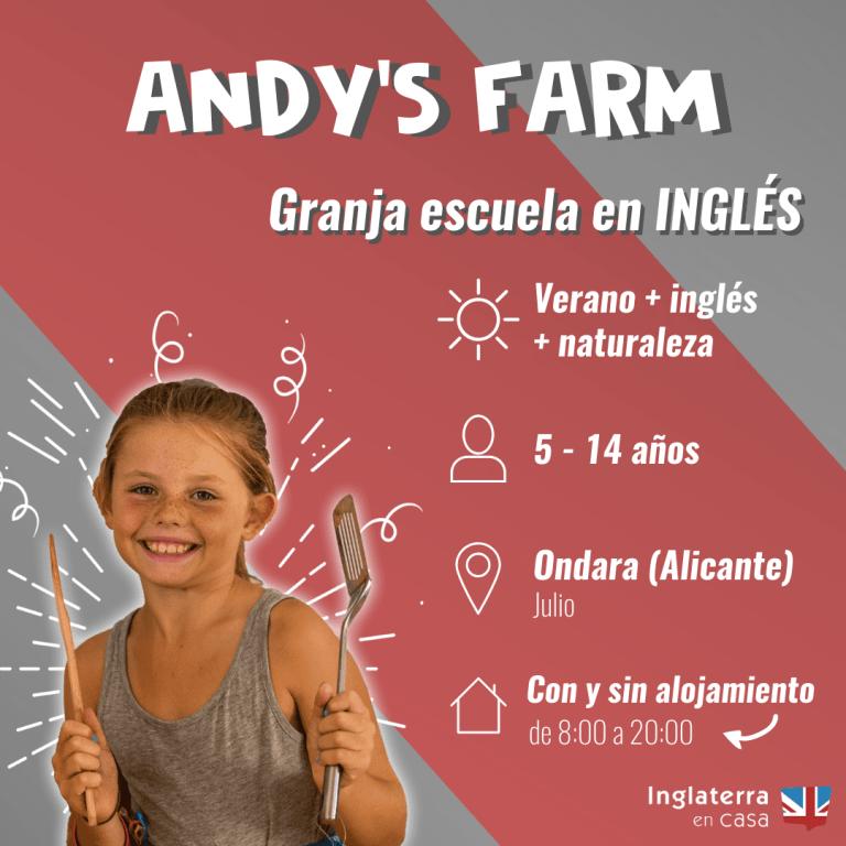 Andys Farm - Granja escuela en inglés