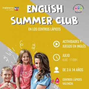Escuela de verano en inglés